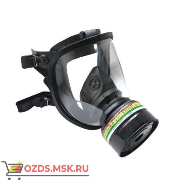 Противогаз фильтрующий РУБЕЖ с фильтром ДОТ 320 марка А2В1Е1К1Р3D с ШМ