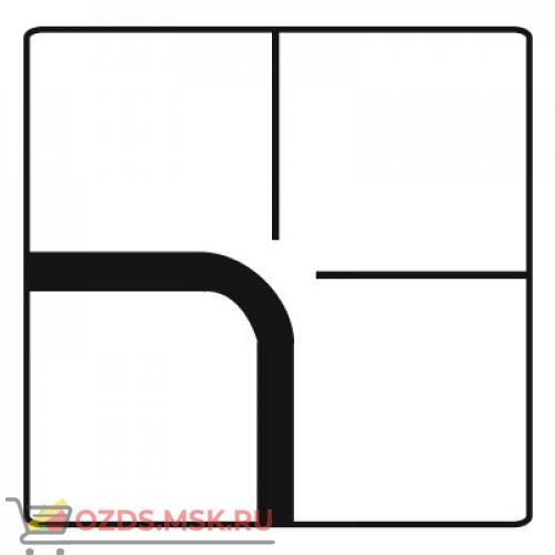 Дорожный знак 8.13 Направление главной дороги (700 x 700) Тип Б