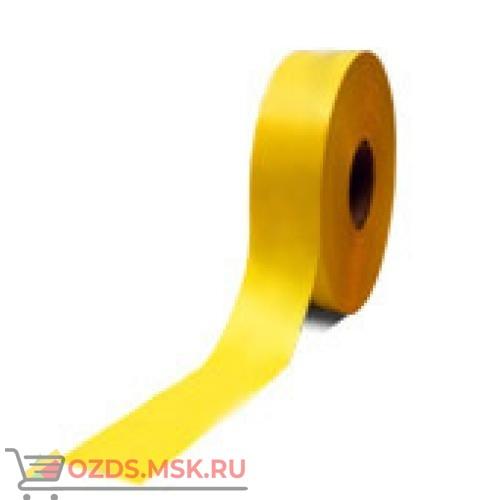Знак T909 Лента для ограждения проемов (желтая) (Пленка 1250 х 50)