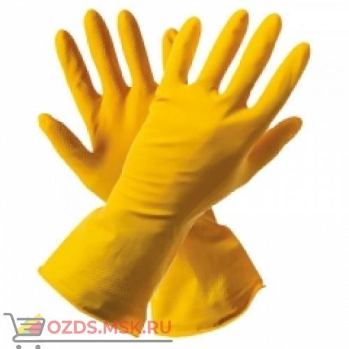 Перчатки хозяйственные без ворса 2-й сорт