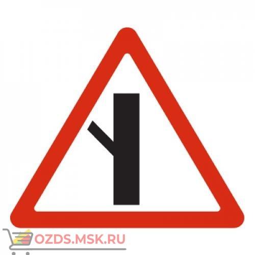 Дорожный знак 2.3.5 Примыкание второстепенной дороги (A=900) Тип Б