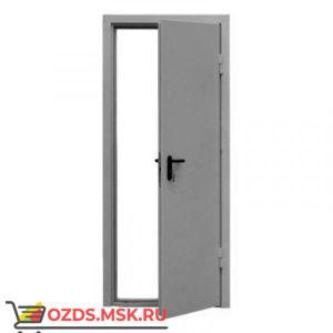 ДПМ-0160 (EI 60) (левая) 980Х1970 с доводчиком (коробка 950Х1950): Дверь противопожарная однопольная