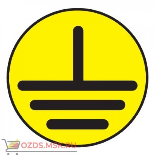 Знак T22 Указатель заземления (Пленка 50 х 50)