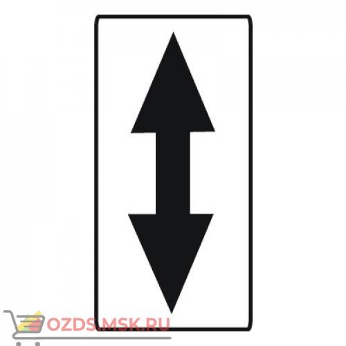Дорожный знак 8.21.1 Вид маршрутного транспортного средства (350 x 700) Тип А