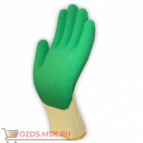 Перчатки трикотажные с латексом
