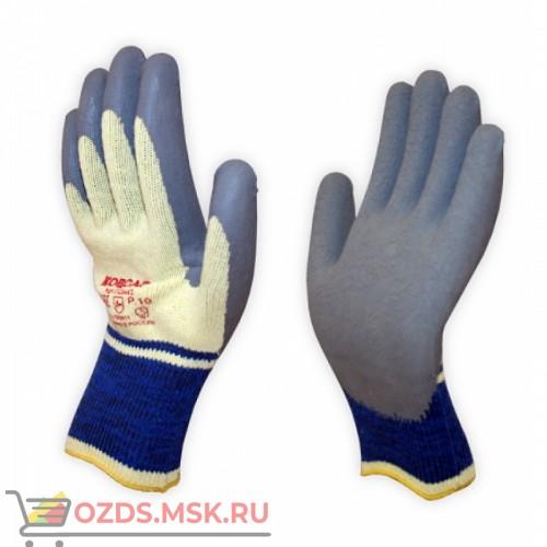 Перчатки хб с напылением латекса