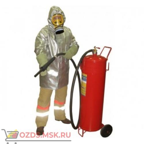 Плащ метализированный комплекта защитной экипировки пожарного-добровольца