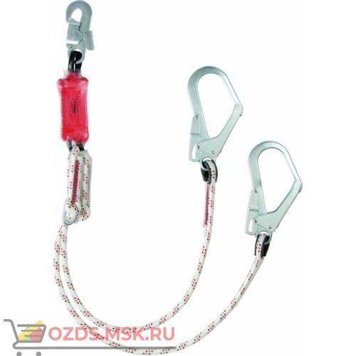 Строп веревочный двойной регулируемый с амортизатором АB22Р