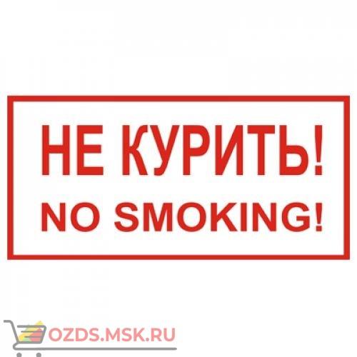 Знак T13 Не курить! No smoking! (Пленка 150 х 300)