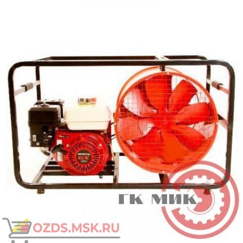 ДПМ-7 (4ОТП) для боевых пожарных расчетов с приводом от двигателя внутреннего сгорания: Дымосос