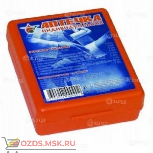 Аптечка индивидуальная АППОЛО (пластиковый футляр)