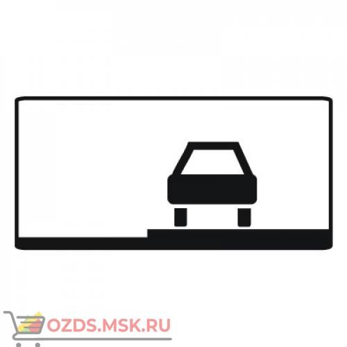 Дорожный знак 8.6.3 Способ постановки транспортного средства на стоянку (350 x 700) Тип Б