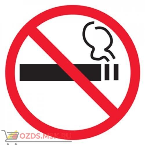 Знак T340 Дополнительный знак о запрете курения Приказ Минздрава России № 214 от 12.05.2014 пункты 2, 6 (Пленка 100 x 100)