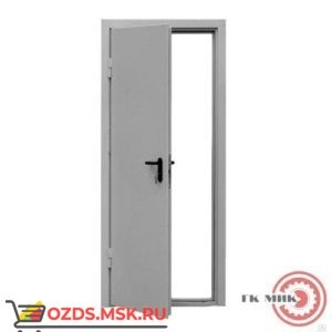 ДПМ-0160 (EI 60) (левая) 930Х2120: Дверь противопожарная однопольная