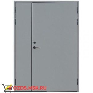 Дверь противопожарная двупольная ДПМ-0260 (EI 60) (правая) 1400Х2100 (коробка 1370Х2070)