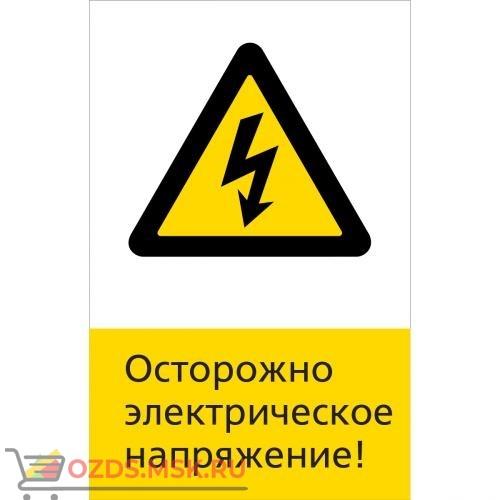 Знак 5.1.6.13 Осторожно электрическое напряжение! (Пластик 450 x 700)