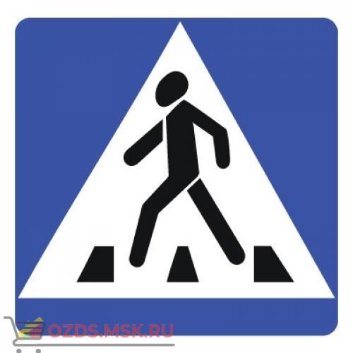 Дорожный знак 5.19.1 Пешеходный переход (B=700) Тип А