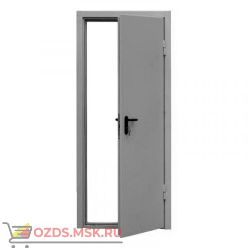ДПМ-0160 (EI 60) (правая) 980Х1970 с доводчиком (коробка 950Х1950): Дверь противопожарная однопольная