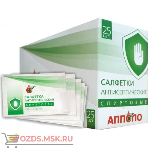 Шоубокс салфетка антисептическая для дезинфекционной обработки тела