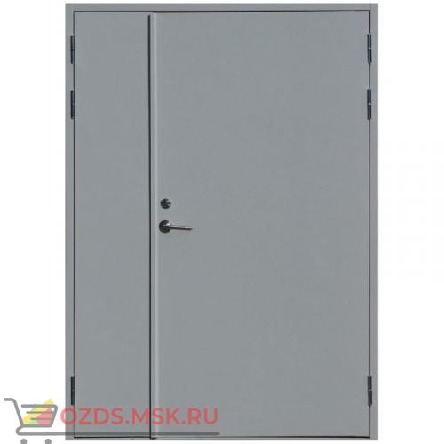 Дверь противопожарная двупольная ДПМ-0260 (EI 60) (правая) 1500Х2100 с доводчиком без порога (коробка 1470Х2080)