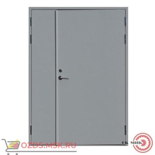 ДПМ-0260 (EI 60) (правая) 1800Х2100 с доводчиком (коробка 1770Х2080): Дверь противопожарная двупольная