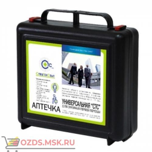 Аптечка универсальная СТС (чёрный чемоданчик)