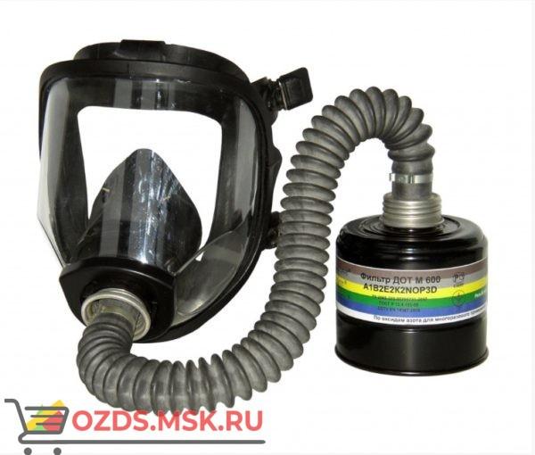 Противогаз ПФСГ-98 с фильтром ДОТ М 600 марка В2Е2К2СО20SX с маской ШМ