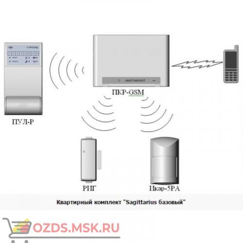 Sagittarius Базовый: Комплект радиоканальной сигнализации