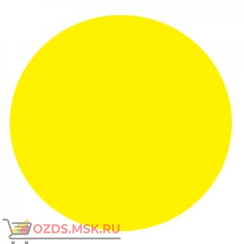 Знак T910 Осторожно! (Пленка 150 х 150) желтый круг