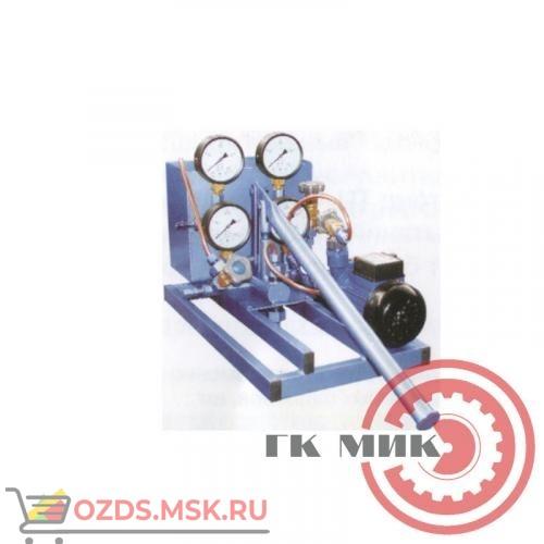 Установка для гидраиспытаний корпусов баллонов, ручного действия УГИ-1Н-2