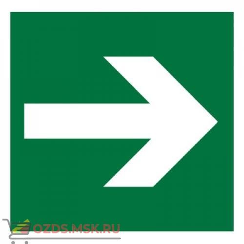 Знак E02-01 Направляющая стрелка ГОСТ 12.4.026-2015 (Пленка 200 х 200)