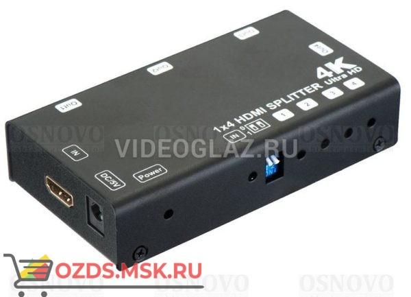 OSNOVO D-Hi1041: Разветвитель видеосигнала