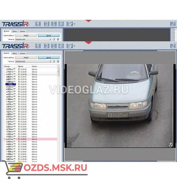 AutoTRASSIR до 200 кмч 1 канал Цифровое видеонаблюдение и аудиозапись