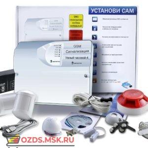 GSM Сигнализация ИПРо-4 (Набор для дачи, дома, квартиры ПРОФИ) (УТ000002066) Проводной комплект охранной сигнализации