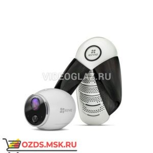 EZVIZ Mini Trooper набор (CS-W2S-EUP-B1) Готовый комплект видеонаблюдения