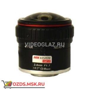 Hikvision HF3417D-12MPIR: Объектив фиксированный