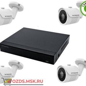 IPTRONIC Уличный QHD 1080P mini Готовый комплект видеонаблюдения