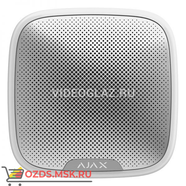 Ajax StreetSiren (white) Охранная GSM система Ajax