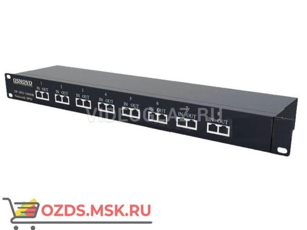 OSNOVO SP-IP81000R Грозозащита цепей управления и IP-сетей