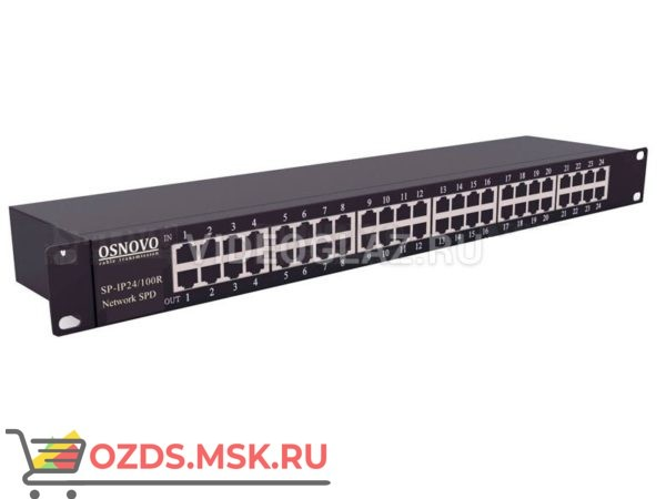 OSNOVO SP-IP24100R Грозозащита цепей управления и IP-сетей