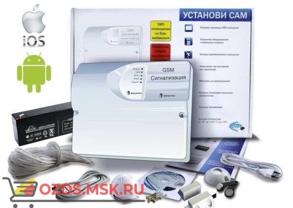 GSM Сигнализация ИПРо-4 (Набор для гаража МИНИ) (УТ000002063) Проводной комплект охранной сигнализации