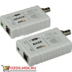 AXIS T8640 POE+ OVER COAX ADAP (5026-401): Передатчик ip-видеосигнала по коаксиальному кабелю