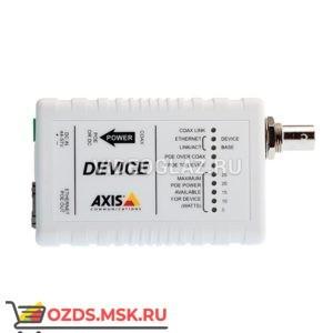 AXIS T8642 POE+ OVER COAX DEVI (5027-421): Передатчик ip-видеосигнала по коаксиальному кабелю