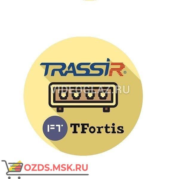 TRASSIR TFortis(server): ПО для IP видеокамер и IP видеосерверов