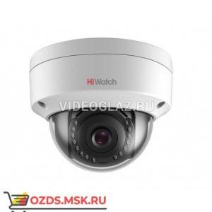 HiWatch DS-I102 (4 mm): Купольная IP-камера