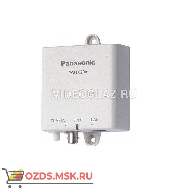 Panasonic WJ-PC200E: Передатчик ip-видеосигнала по коаксиальному кабелю