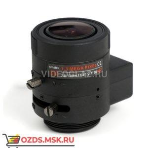 Amatek AVL-M2812DIR: Объектив вариофокальный с АРД