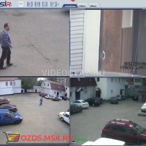 TRASSIR ActiveDome+ PTZ Цифровое видеонаблюдение и аудиозапись