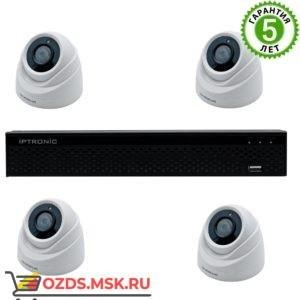 IPTRONIC Усиленный QHD 1080P mini Готовый комплект видеонаблюдения