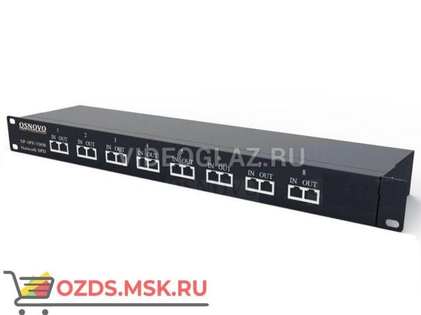 OSNOVO SP-IP8100R Грозозащита цепей управления и IP-сетей